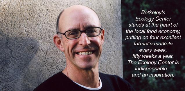 Michael Pollan<br><em>Author, Journalist and Berkeley Farmers' Market Shopper!</em>