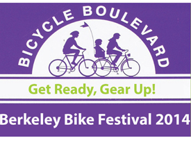 Get Ready, Gear Up! Berkeley Bike Festival, 5/4/14