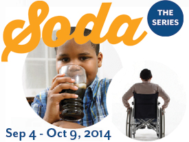 Second Event in Soda Series: Soda & Kids, 9/13/14