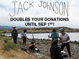 Help Us Reach Jack Johnson's $2500 Match by Sep 1st!