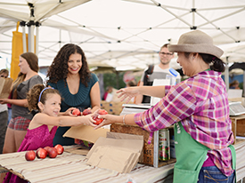 Expanding Healthy Food Access at Farmers' Markets: KQED Covers Market Match Program & AB 1321 Update