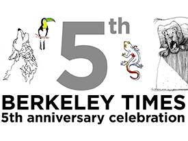 Berkeley Times 5th Anniversary Celebration, 11/15/15