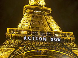 """Climate Action Now!"" Report Back from Paris + Local Updates, 1/7/16"
