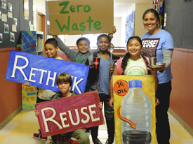 Plastic-Free July Inspiration: Jackie Omania's Zero Waste Classroom at Oxford Elementary