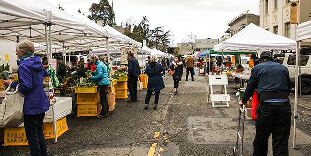 Farmers' Market open again Sat, 4/22/17