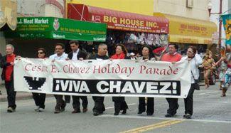 SF Cesar Chavez parade