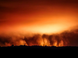 Yosemite Fire Brings Climate Change Closer to Home