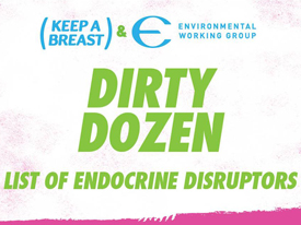 A Better Way to Raise Cancer Awareness: Dirty Dozen of Endocrine Disruptors