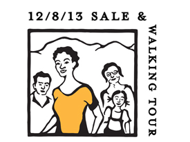 Member Appreciation Sale and Walking Tour, 12/8/13