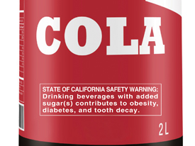 California Proposes Warning Label for Sugary Drinks