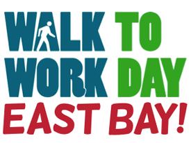 Walk to Work Day East Bay is Tomorrow, 4/3/14
