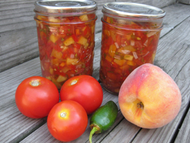 Farmers' Market Cooking & Preservation Demo: Salsas! 7/19/14
