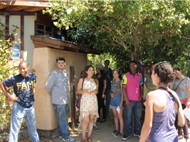 Youth Interns Broaden Their Horizons through EcoHouse Tour