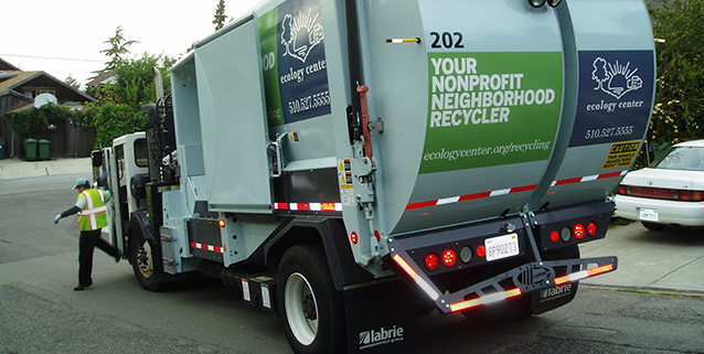 EC Recycling truck