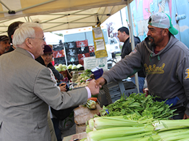Video: Undersecretary Concannon Visits Our Farmers' Market