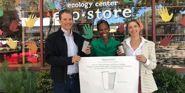 Announcing the launch of Berkeley's first Reusable Cup service!