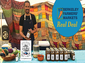Berkeley Farmers' Market Real Deal available November 2 - 16, 2019