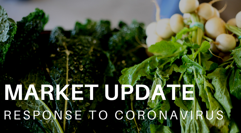 Our Markets are open and we need your help!