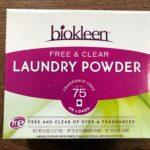 Biokleen Free & Clear Laundry Powder