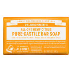 Dr. Bronner's All-One Pure Castille Bar Soap Hemp Citrus