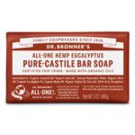 Dr. Bronner's All-One Pure Castille Bar Soap Hemp Eucalyptus