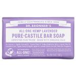 Dr. Bronner's All-One Pure Castille Bar Soap Hemp Lavender