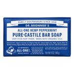 Dr. Bronner's All-One Pure Castille Bar Soap Hemp Peppermint