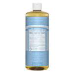 Dr. Bronner's 18-in-1 Pure Castille Soap Hemp Baby Unscented