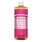 Dr. Bronner's 18-in-1 Pure Castille Soap Hemp Rose