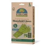 If You Care Natural Rubber Gloves Large