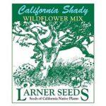 Larner Seeds California Shady Wildflower Mix