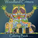 Woodland Critters Coloring Book