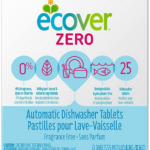 Ecover Automatic Dishwashing Tablets Zero. 25 count
