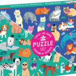 Mudpuppy Cats & Dogs Double Sided 100 pc Puzzle