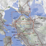 Bay Area Trail Map: Berkeley Hills and Carquinez Strait