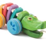 Rainbow Dancing Alligator Pull Toy