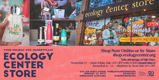 Your Holiday Eco Marketplace--Shop Green Friday on 11/27