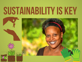"Sustainability is Key: Learning from Gardening with Lori ""CompostGal"" Caldwell"