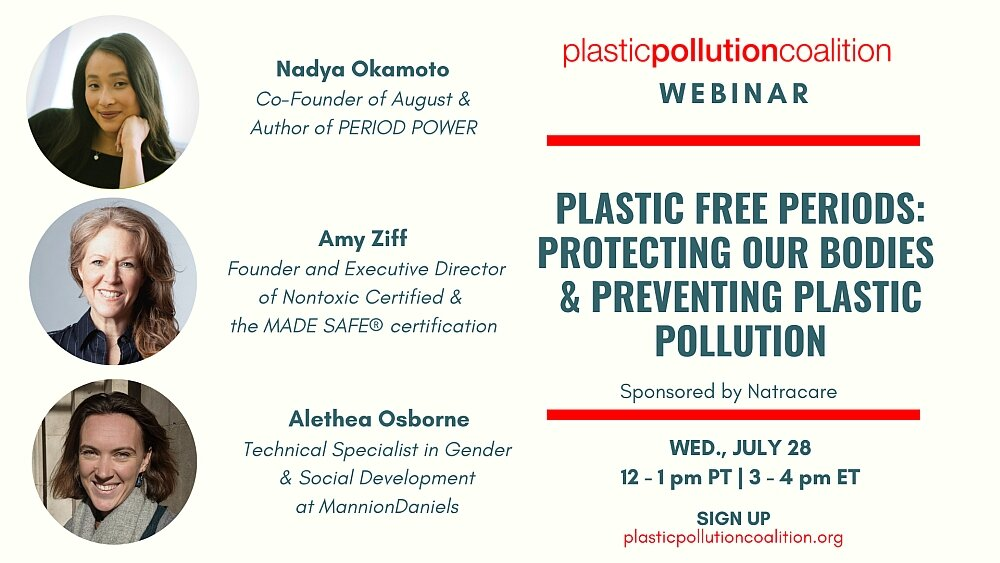 July 28: Plastic Free Periods