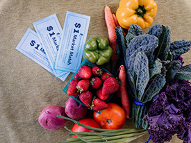 Increased Funding for Market Match Meets Increased Need for Healthy Food Dollars